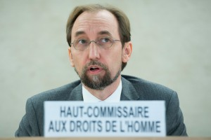 High Commissioner Zeid