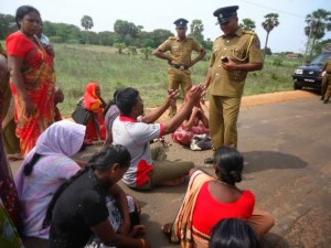 Activists blocked on way to Colombo