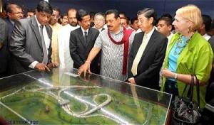 Mahinda looking at highways