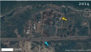 satellite images of HSZ