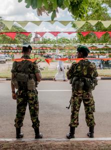 Militarisation (Credit: Seb Brixey-Williams)