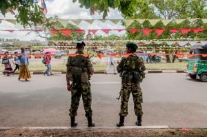 Militarisation in Sri Lanka