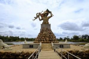 War memorial, northern Sri Lanka