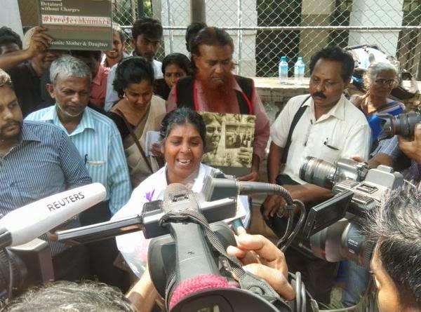 Jeyakumary on release