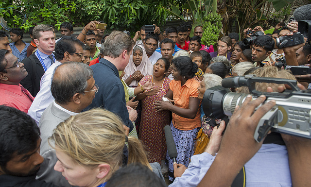Cameron in Jaffna
