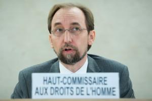 High Commissioner Zeid