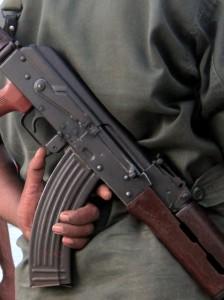 Sri Lanka Army AK47