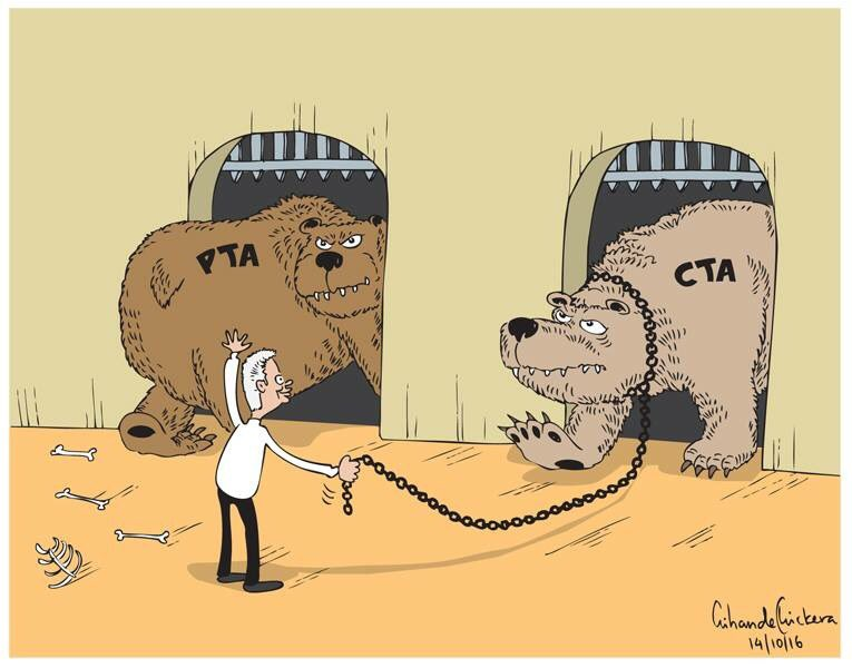 PTA CTA Cartoon