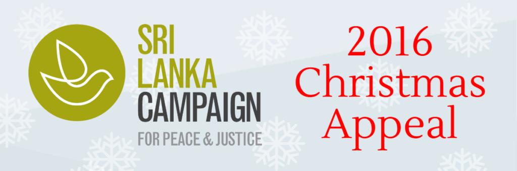 Sri Lanka Campaign 2016 Christmas Appeal