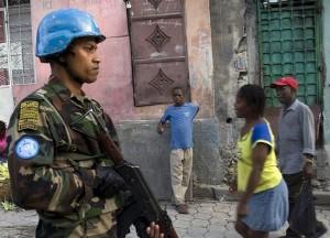 Sri Lanka Peacekeeper MINUSTAH Haiti 2010