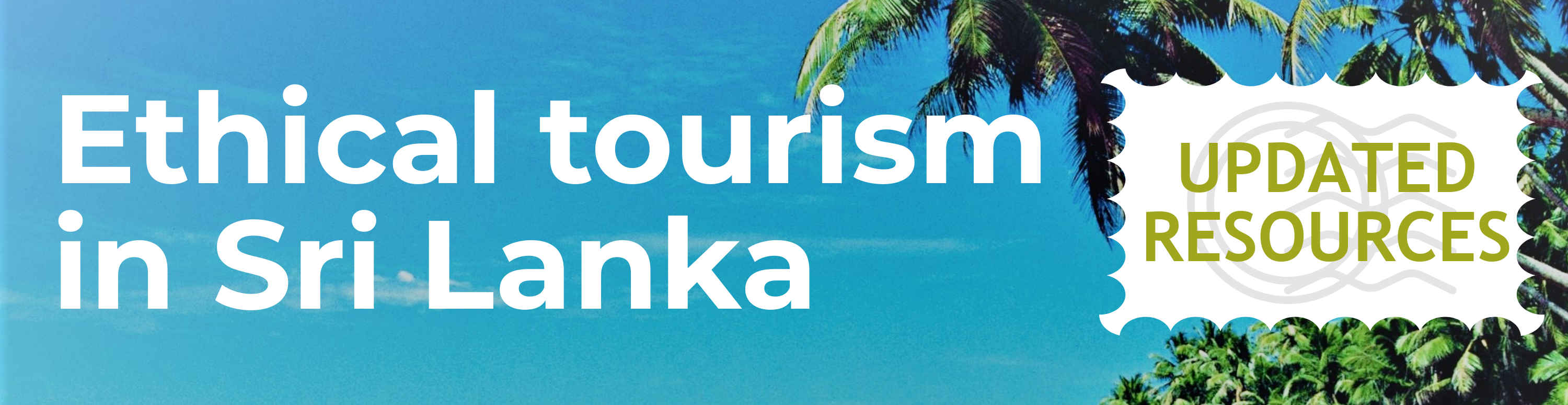 Ethical Tourism in Sri Lanka