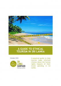 A Guide to Ethical Tourism in Sri Lanka, October 2018