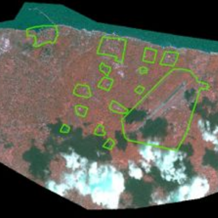 satellite images of HSZ