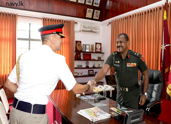 Defence Advisor meets Overall Operations Commander