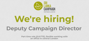 We're hiring a Deputy Campaign Director!