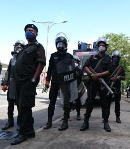 Sri Lankan police