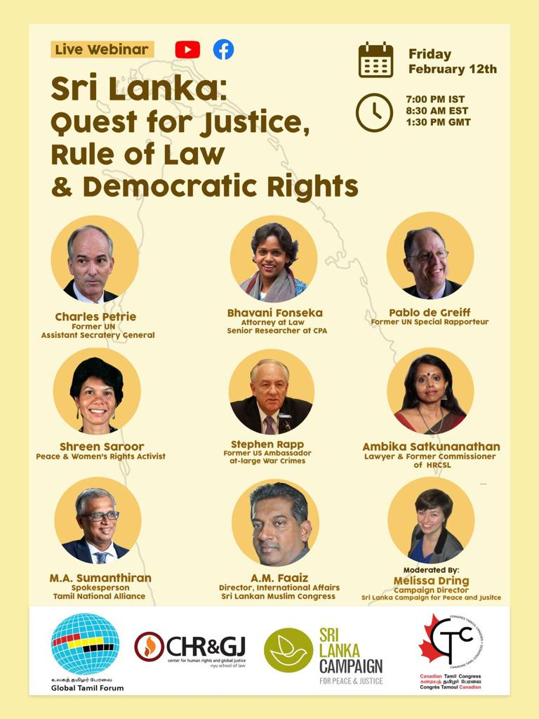 Live webinar: Quest for Justice, Rule of Law & Democratic Rights